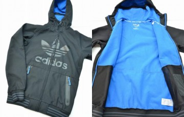 adidas Greely Soft Shell hoodie Jacket 2014の買取実績